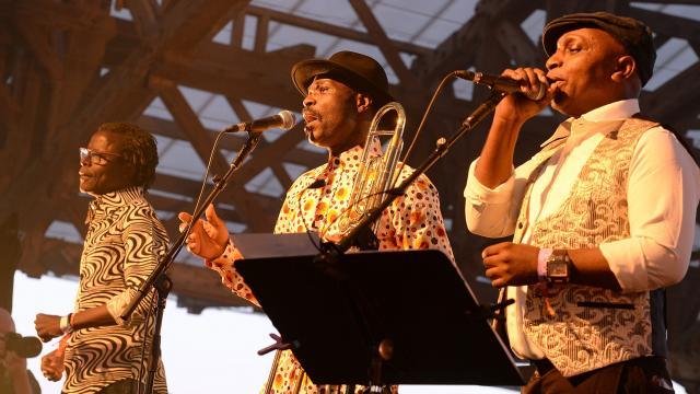 Soirée des Escales Saint-Nazaire rythmes africains de Vaudou Game